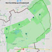 Green Belt Map - Fairlop Plain